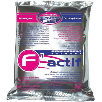 Спортивное питание Актиформула F-aktif +L-carnitine NEW 400г