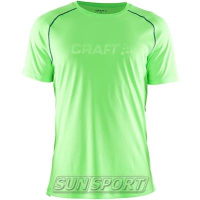 Футболка Craft M Active мужская зелен/атлант