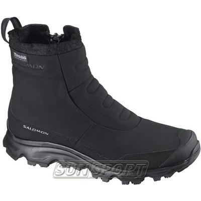 Ботинки трекинговые Salomon Tactile 2 TS мужские черный (фото)