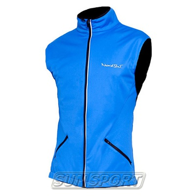Жилет NordSki M Premium SoftShell мужской синий (фото)