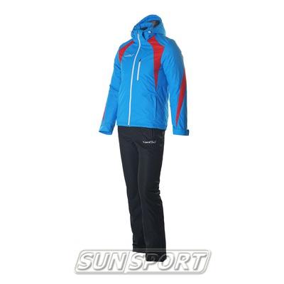 Утепленный костюм Nordski Active голубой (фото)