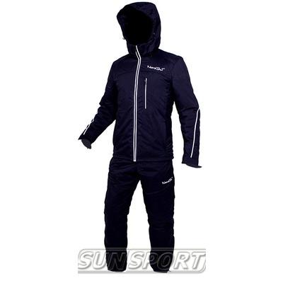 Утепленный костюм NordSki Active черный (фото)
