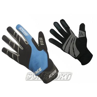 Перчатки KV+ Race WS син/черный