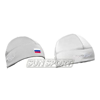 Шапка NordSki Active Rus белый