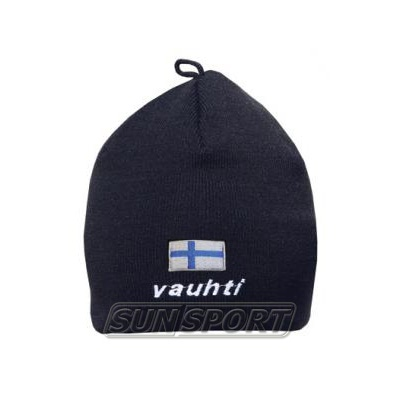 Шапка Vauhti Flag Finland черный