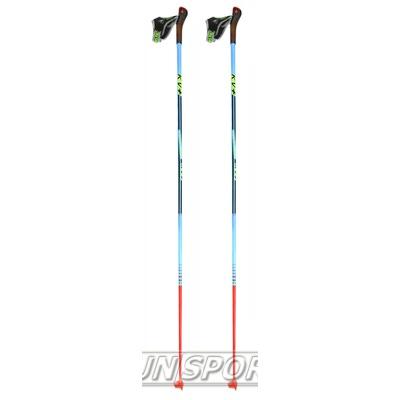 Палки лыжные KV+ Tornado Clip Blue (100% Carbon) (фото)