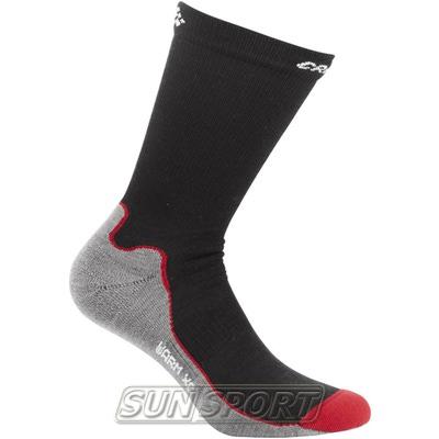 Носки лыжные Craft XC Warm чёрный (фото)