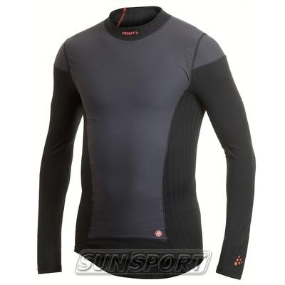 Термобелье Рубашка Craft M Active Extreme WS мужская черный