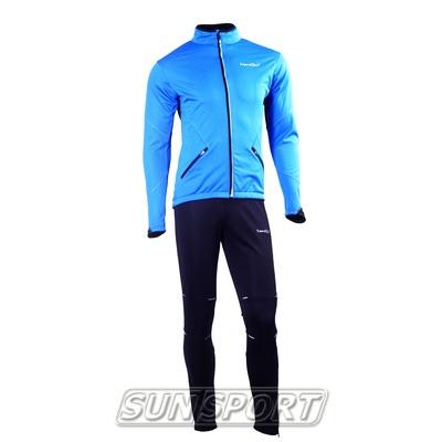 Разминочный костюм JR Nordski SoftShell син/черн
