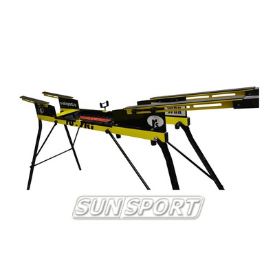 Станок для подготовки лыж Ru-Ski на ножках 2 лыжи (фото)
