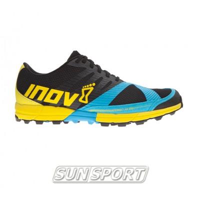 Кроссовки трейловые Inov Terraclaw 250 черн/голубой (фото)