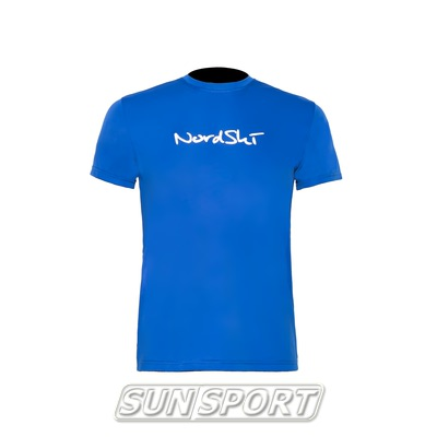 Футболка NordSki Active Blue (фото)