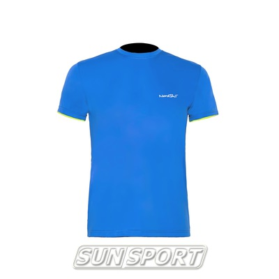 Одежда Лето NordSki Футболка NordSki Premium Blue/Neon – SunSport