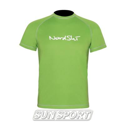 Футболка NordSki Active Green (фото)