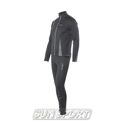 Разминочный костюм M Nordski SoftShell черн/серый (фото)