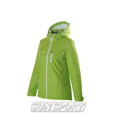 Утепленная куртка W Nordski лайм (фото)