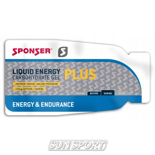 Гель Liquid Energy Plus Sponser 35г