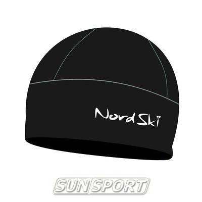 Шапка Nordski Active черная