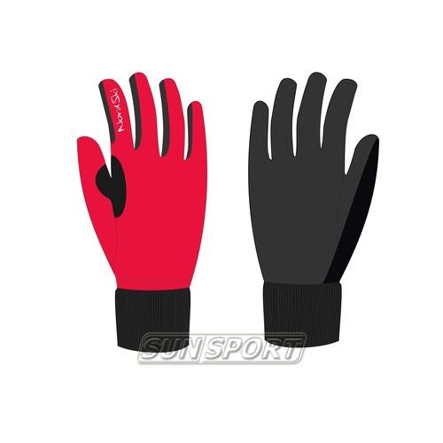 Перчатки NordSki Active красный