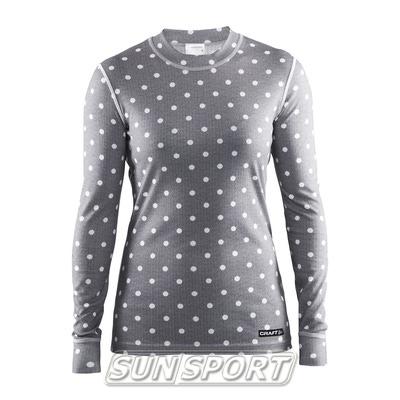 Термобелье Рубашка Craft W Mix&Match женская полька (фото)