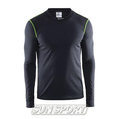 Термобелье Рубашка Craft M Mix&Match мужская гравий (фото)