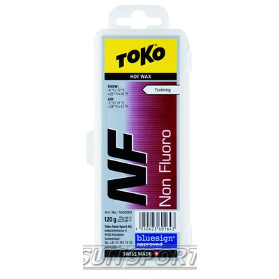 Парафин Toko NF Tribloc красная, -4°/-12°С, 120 гр