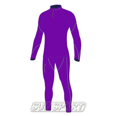 Комбинезон лыжный W Nordski Active фиолетовый (фото)