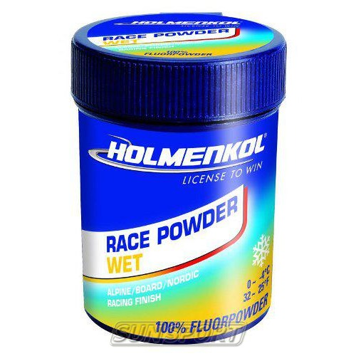 Порошок Holmenkol Race WET (0-4) 30г