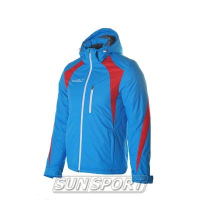 Утепленная куртка NordSki Active мужская син/черный (фото)