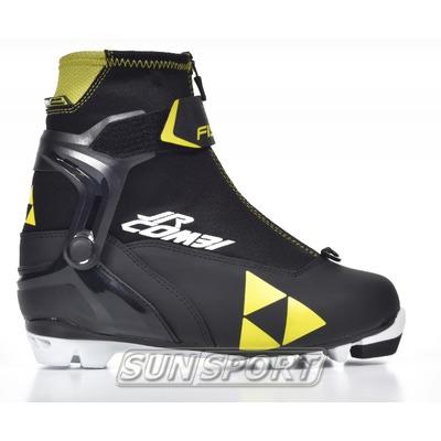 Ботинки лыжн. Fischer Junior COMBI (фото)