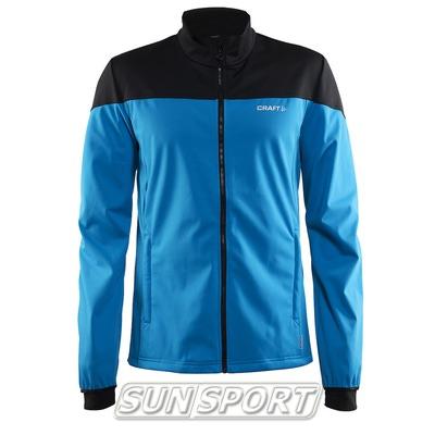Разминочная куртка Craft M Voyage мужская син/черный (фото)