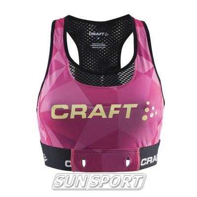 Топ спортивный Craft Active Cool розовый (фото)