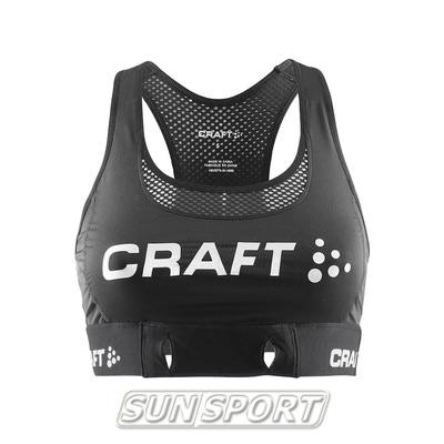 Топ спортивный Craft Active Cool черный (фото)
