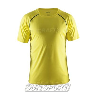 Футболка Craft M Active мужская желтый (фото)