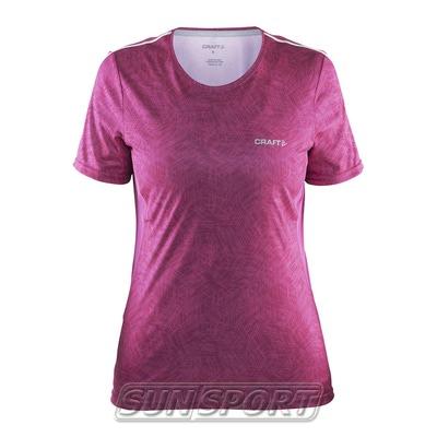 Футболка Craft W Mind Run женская розовый (фото)