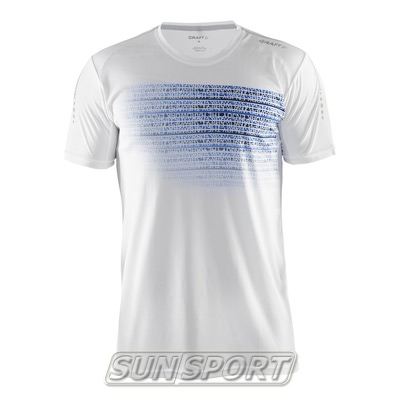 Футболка Craft M Mind Run мужская белый (фото)