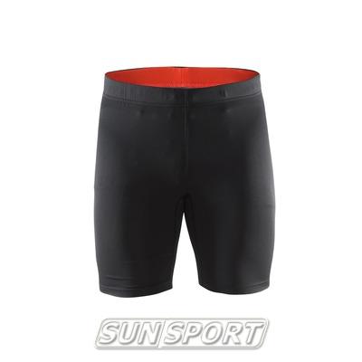 Шорты Craft M Active мужские черн/оранжевый (фото)