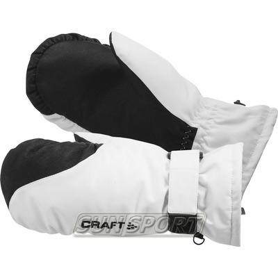 Варежки Craft Alpine бел/черный
