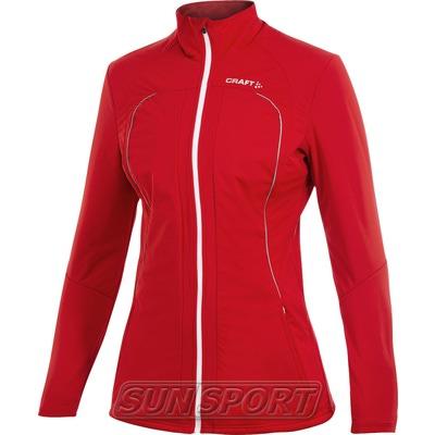 Разминочная куртка Craft W Storm женская красный