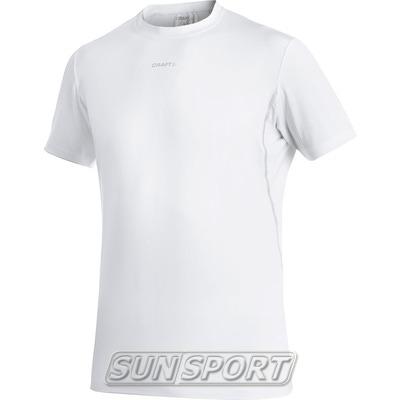 Термобелье Футболка Craft M Cool Cooling мужская белый