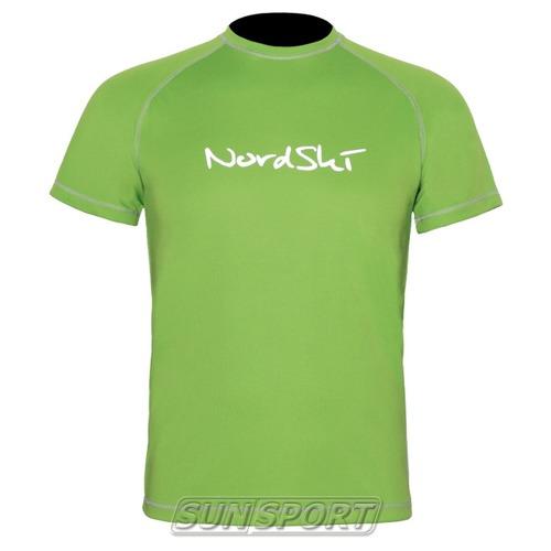 Футболка NordSki M Active мужская Green (фото)