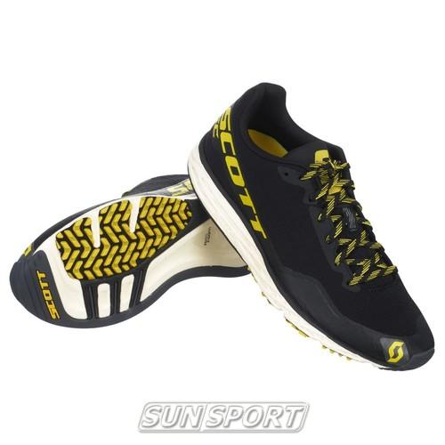 Кроссовки беговые Scott Palani RC black/yellow (фото)