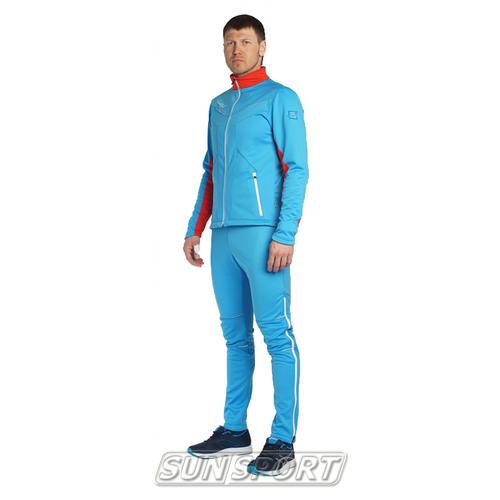 Разминочный костюм M Nordski SoftShell National Blue (фото)