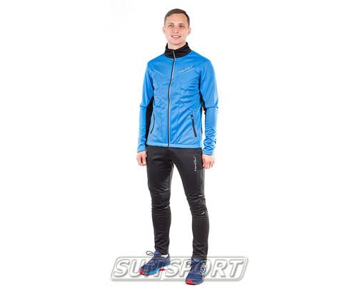 Разминочный костюм M Nordski Premium SoftShell синий (фото)