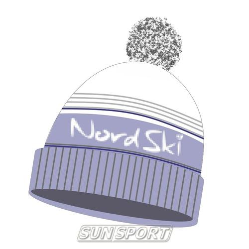 Одежда Зима NordSki Шапка NordSki Stripe серый – SunSport