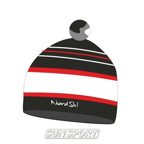 Шапка NordSki Bright черный (фото)