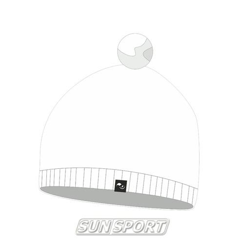 Шапка Nordski Sport белая (фото)