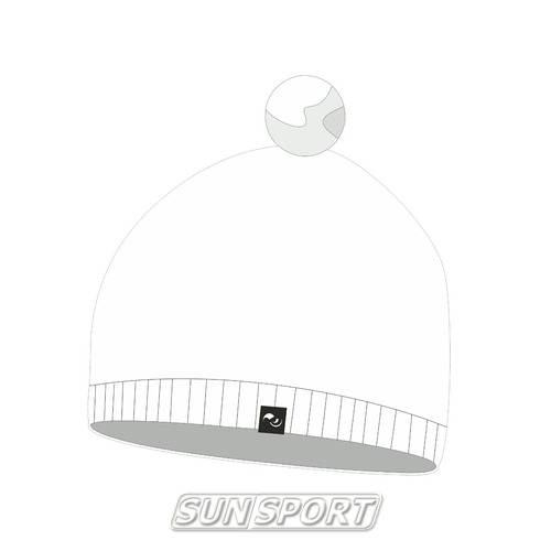 Шапка NordSki Sport белый (фото)