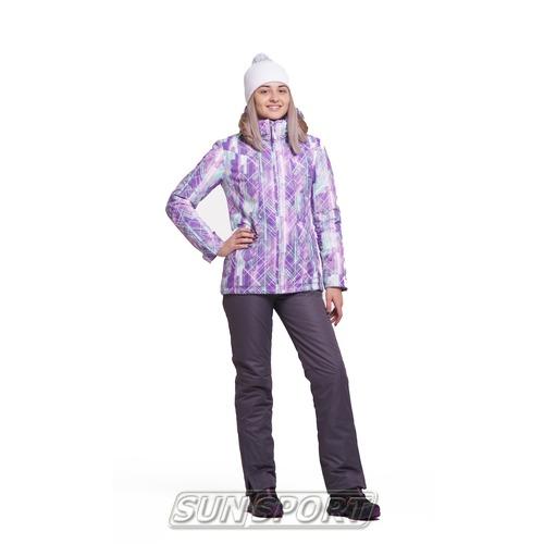 Утепленный костюм NordSki JR City детский Violet/Mint/Grey (фото)