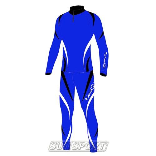 Комбинезон лыжный Nordski Premium син/черн (фото)